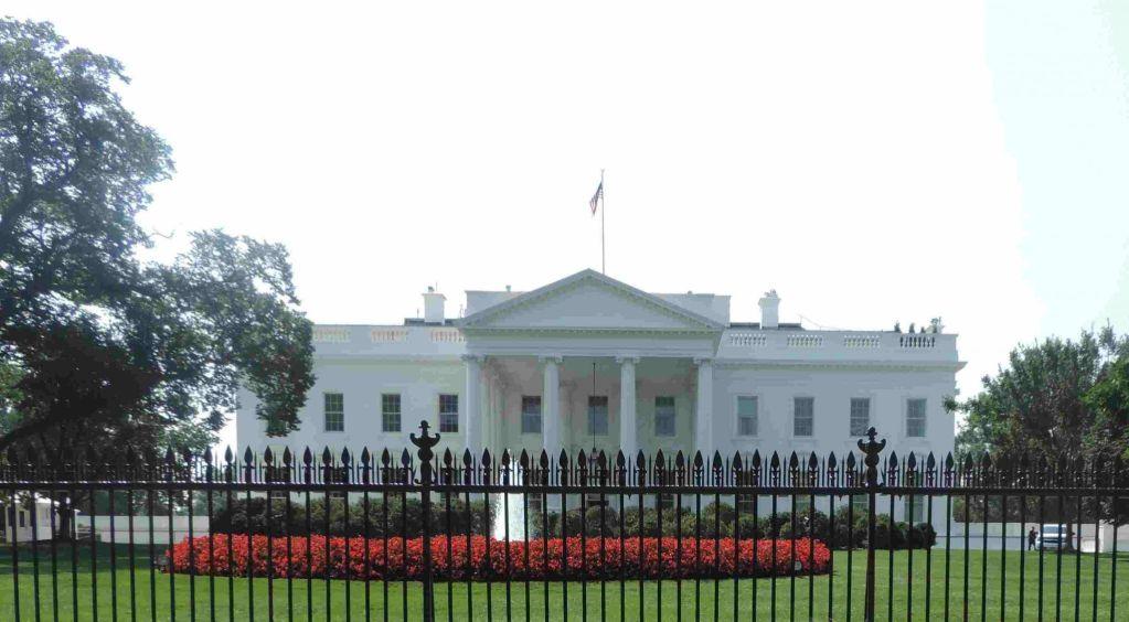 Frente de la Casa Blanca