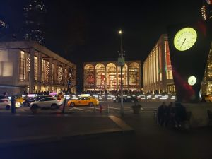 Vista exterior del Lincoln Center de Nueva York