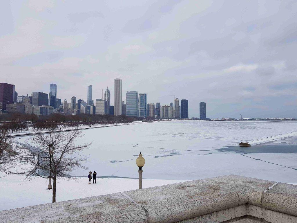 Skyline de Chicago desde Grant Park