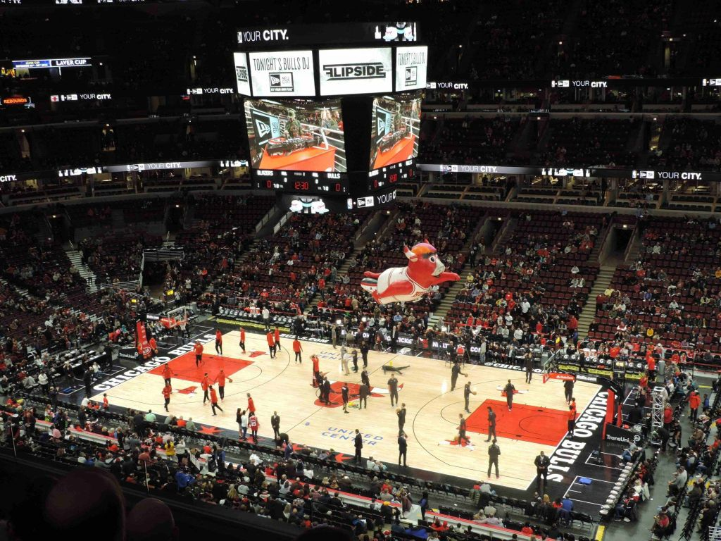 Partido de Chicagos Bulls en United Center