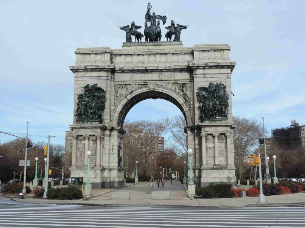 Grand Army Plaza en Brooklyn
