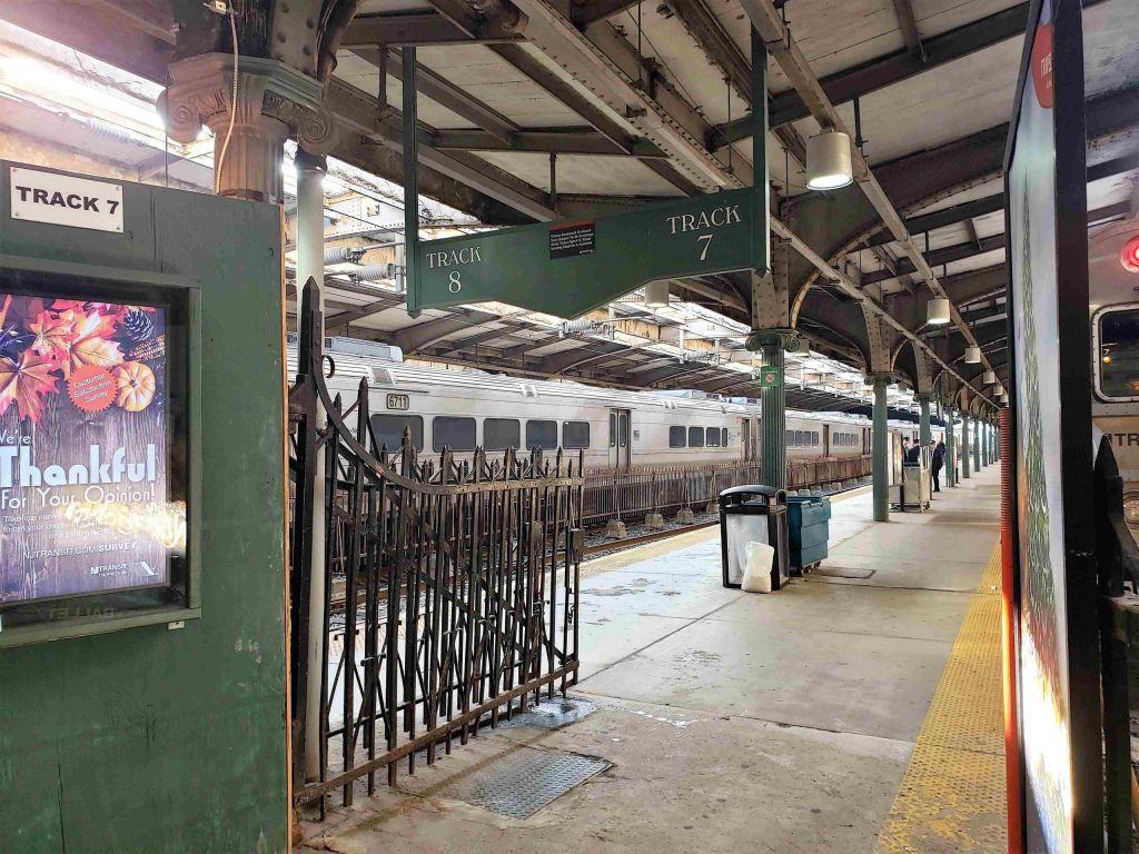 Anden en Terminal de Hoboken