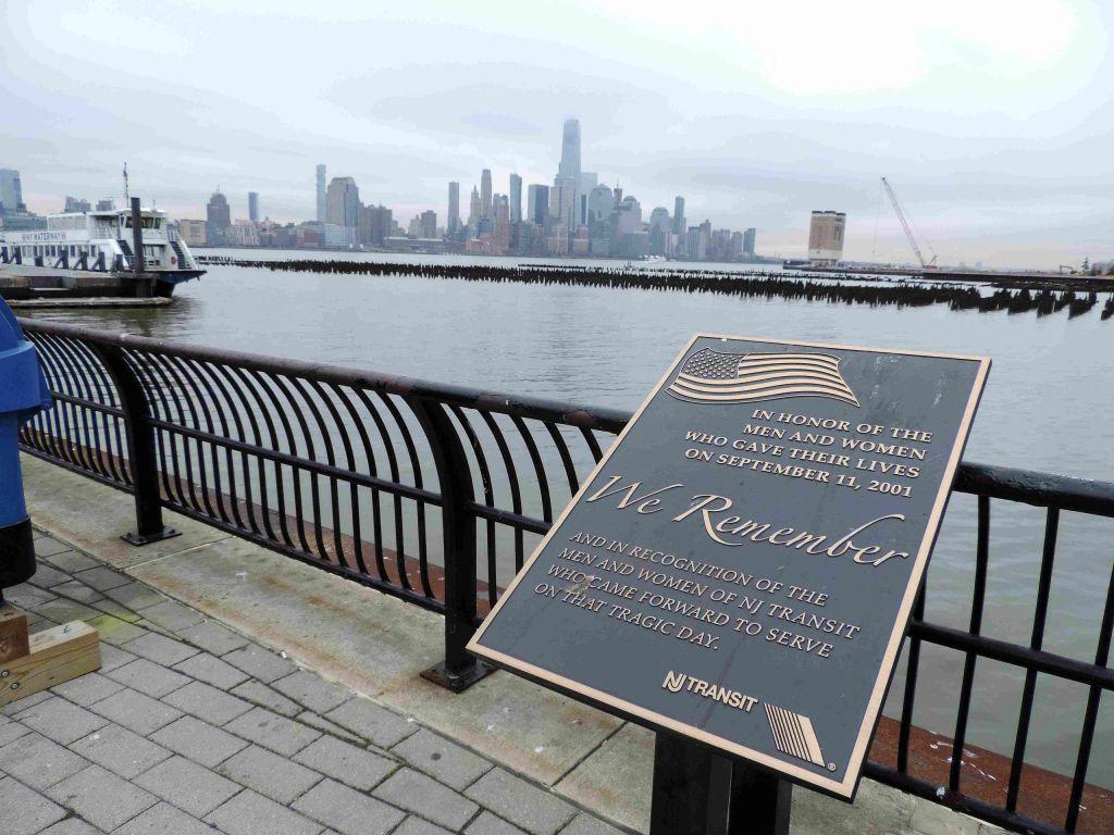 Vista de Downtown Manhattan dsde la Terminal de Hoboken