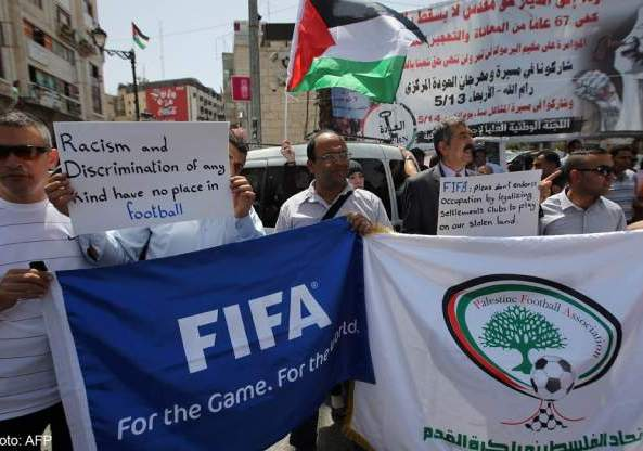 Organizaciones sociales y Palestina exigen a la FIFA la expulsión de Israel