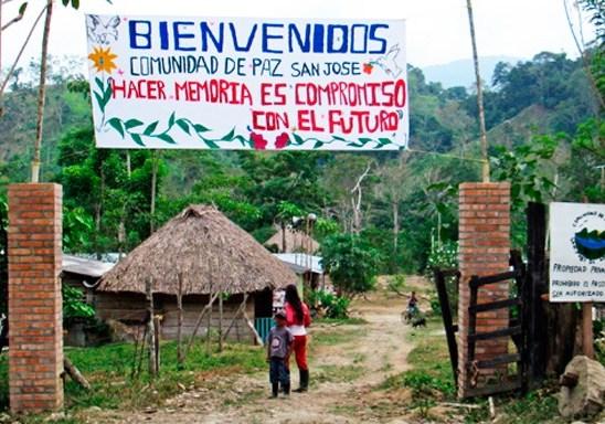 ¿Cuándo podrá vivir en paz la comunidad de San José de Apartadó?