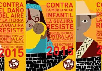 El Cerrejón en la mira del Tribunal Popular contra las Transnacionales en la Guajira
