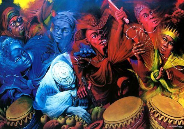 Santería y Salsa: Babalú Ayé, Changó, Osum y Yemayá