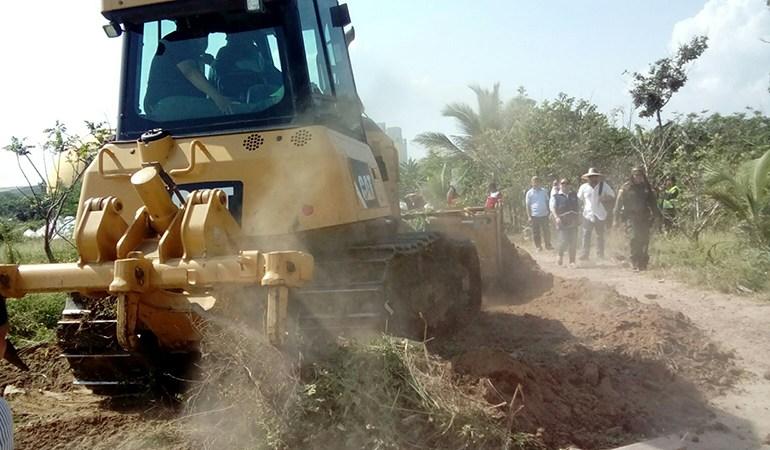 Desalojo en Tamarindo, un desastre humanitario