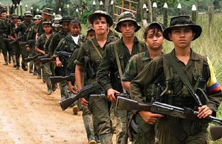 Se acabó la guerra para menores de las FARC-EP