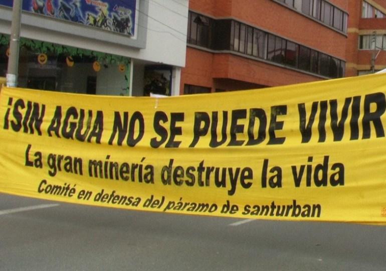 Bucaramanga se movilizará en defensa del páramo de Santurbán