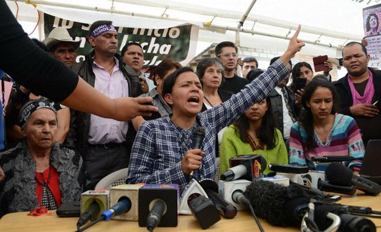 Dos militares están implicados en asesinato de Berta Cáceres en Honduras