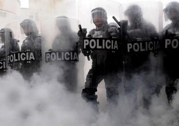 30 estudiantes resultaron heridos durante movilización en Bogotá