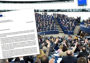Por agresiones del ESMAD al Paro Nacional 33 eurodiputados envían carta al presidente Santos