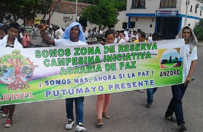 Denuncian asesinato y desaparición de integrantes de Zona de Reserva Campesina Perla Amazónica
