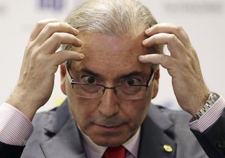 """Fora Cunha, Fora Temer"" la consigna tras la destitución de la ficha principal del impeachment"