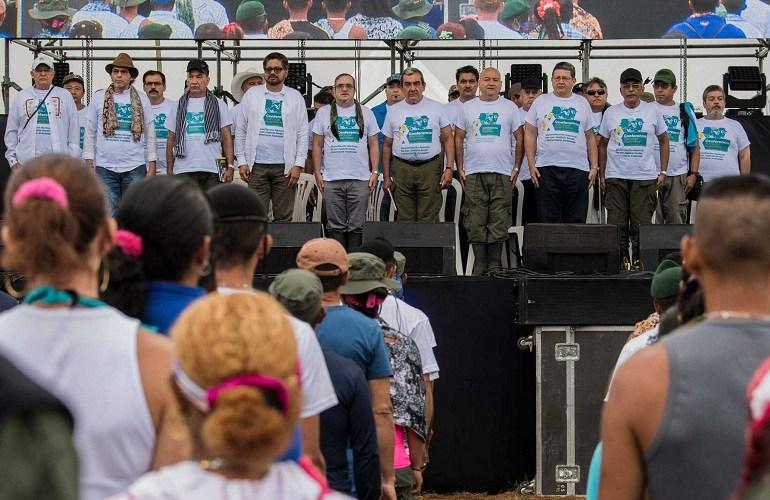 FARC-EP celebra su último aniversario en armas
