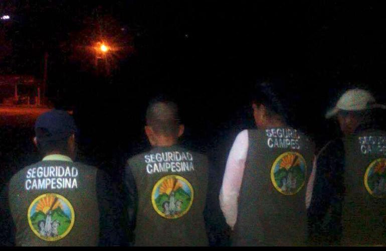 Ante amenazas campesinos vigilan cabeceras municipales en Norte del Cauca