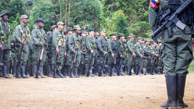 Militares hostigan a guerrilleros de las FARC-EP en el Meta