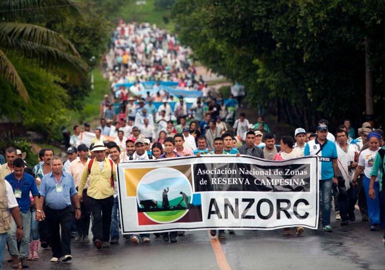 Este fin de semana se realizará el V Encuentro de Zonas de Reserva Campesina