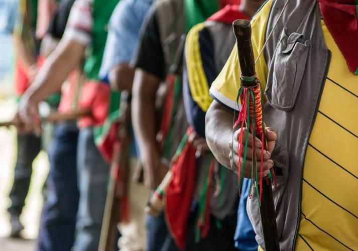 Indígenas de Cauca denuncian hostigamientos por combates entre el ELN y Policía