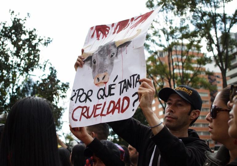 Bogotá parecía en estado de sitio contra los animalistas: Plataforma ALTO