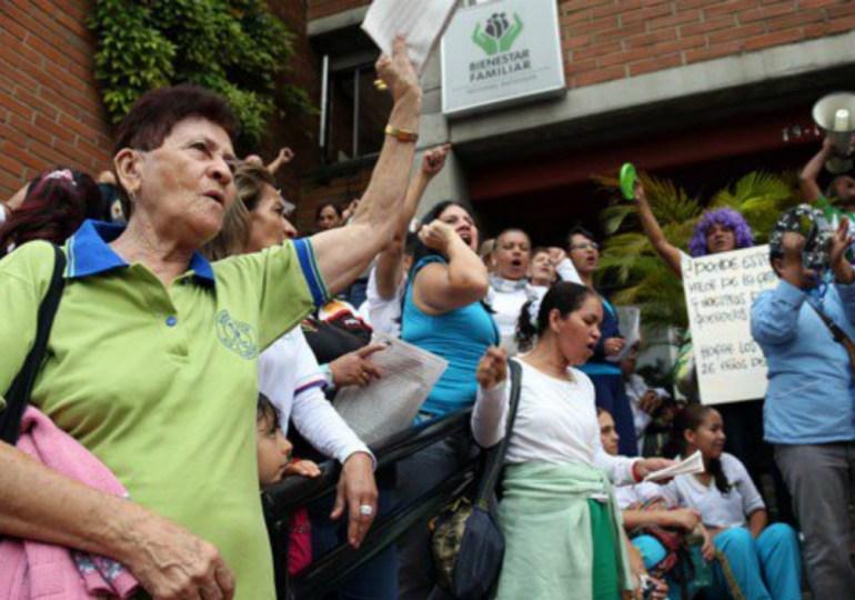 65.000 madres comunitarias irían a paro indefinido