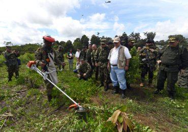 6 Campesinos heridos  en manifestaciones contra erradicación forzada