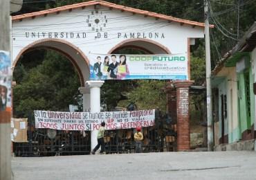 """""""No vamos a dejar en manos del olvido, la lucha estudiantil"""" Estudiantes de UniPamplona"""