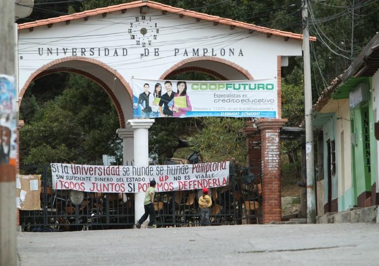 Cancelación de semestre no detuvo la movilización de UniPamplona