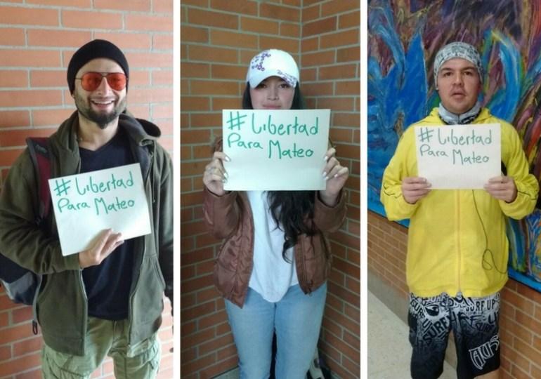 Exigen libertad de Mateo Gutiérrez a través de Change.org