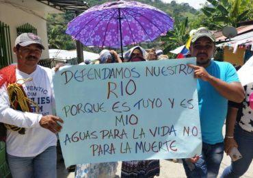 Crece la movilización nacional contra la construcción de proyectos hidroeléctricos y mineros