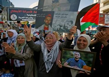 Termina con victoria huelga de presos palestinos