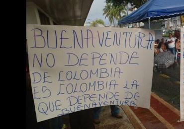 ¿Dónde estaba la policía de Buenaventura o el ESMAD durante saqueos?