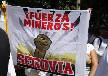 Luego del paro en Remedios y Segovia han sido detenidos 20 mineros