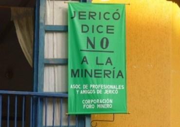 Habitantes de Jericó tutelarán derecho a prohibir la minería en su territorio