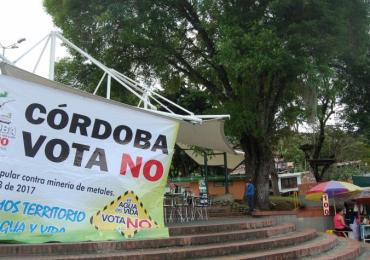 Por segunda vez suspenden consulta popular en Córdoba, Quindío por falta de recursos