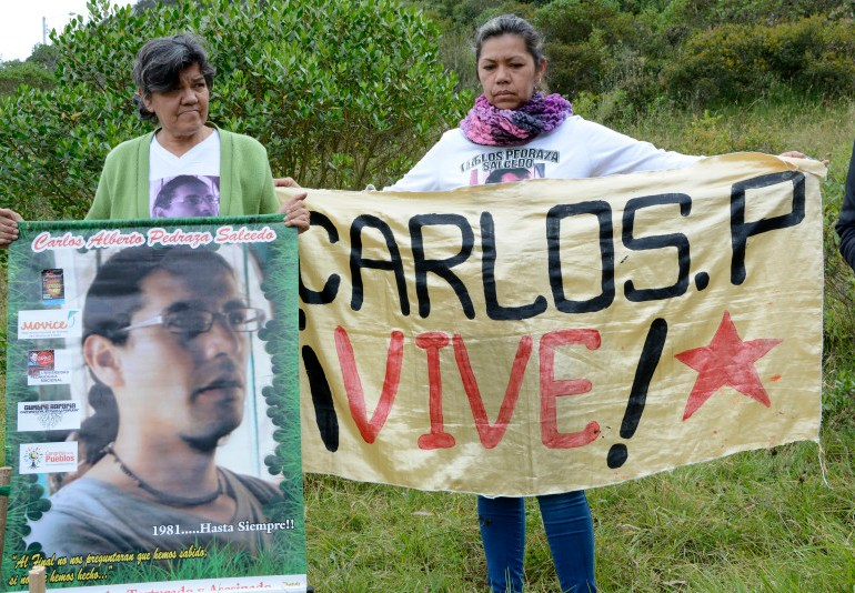 Con campamento recordaron la vida del líder social Carlos Pedraza