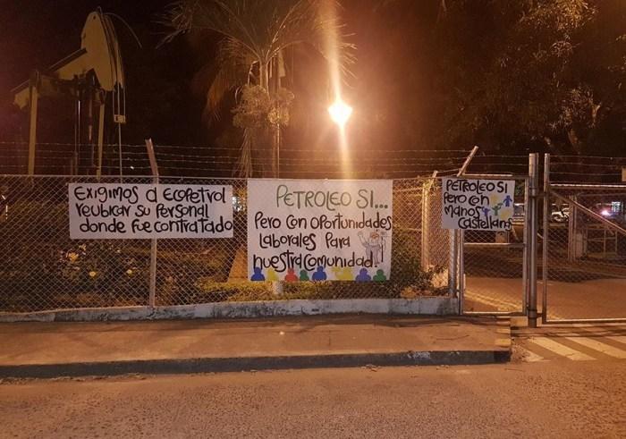 Habitantes de Castilla la Nueva dicen no ser terroristas y protestas contra ECOPETROL continúan