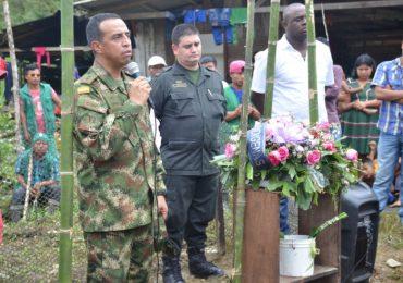 Así fue el acto de perdón del Ejército por asesinato del líder indígena Eleazar Tequia