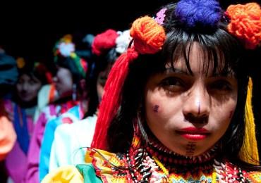Minga por la dignidad del pueblo Embera desplazado en Bogotá