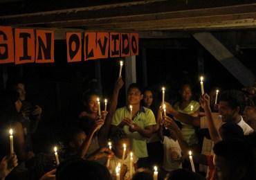 Una luz por los líderes sociales en Curbaradó
