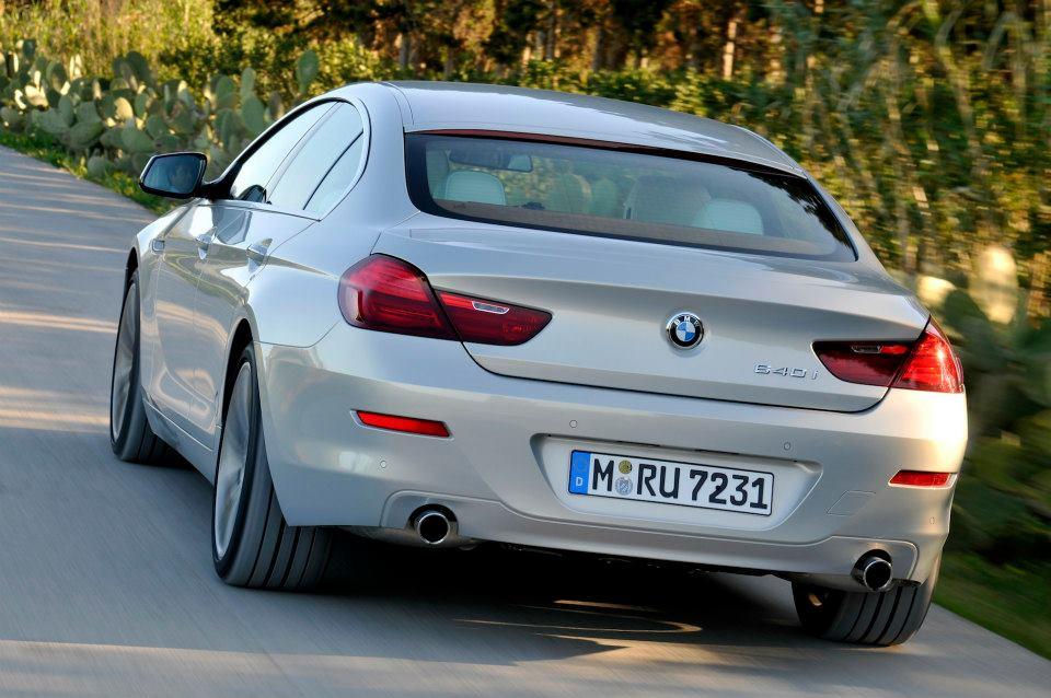 BMW Série 6 gran Coupe 640d 2013 modelo prata foto 9