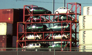 container ô tô