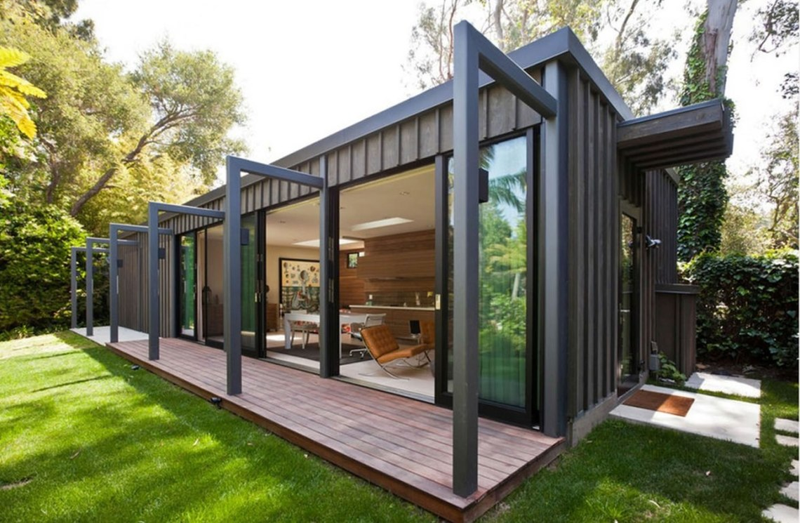Converted Shipping Container Accommodation Units