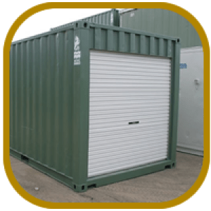 Converted Shipping Containers - Storage Containers