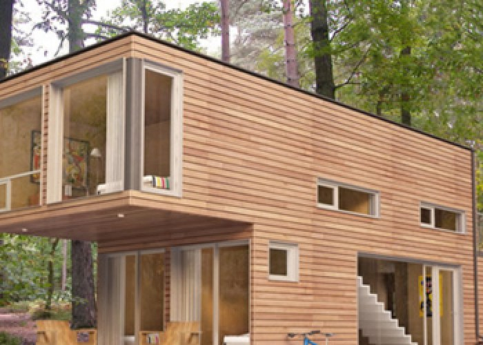 Converted Shipping Container - Home