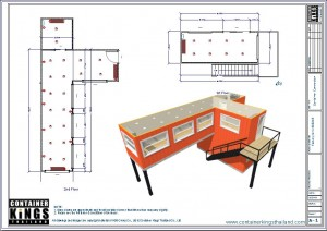Container Kings Thailand - CK40HC-Office Unit