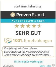 Das Bewertungssiegel von ProvenExpert com