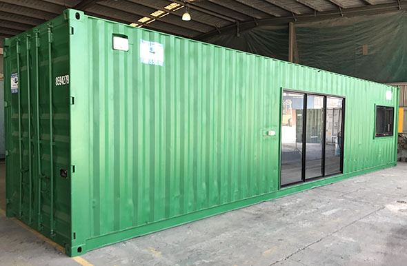 Second Hand Shipping Containers For Sale With Sliding Door