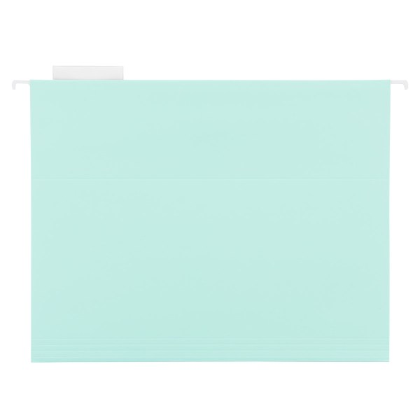 Mint Letter Size Hanging File Folders   The Container Store Mint Letter Size Hanging File Folders